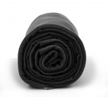 Dr.Bacty Ręcznik szybkoschnący czarny