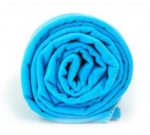 Dr.Bacty Ręcznik szybkoschnący błękitny