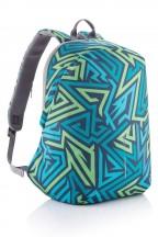 XD DESIGN Bobby Soft Plecak miejski niebieski wzór