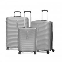 Modo by Roncato Vega Komplet 3 walizek srebrny
