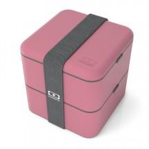 Monbento Square Pojemnik na żywność, Lunch box różowe