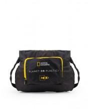 National Geographic Foldables Torba na zakupy czarna