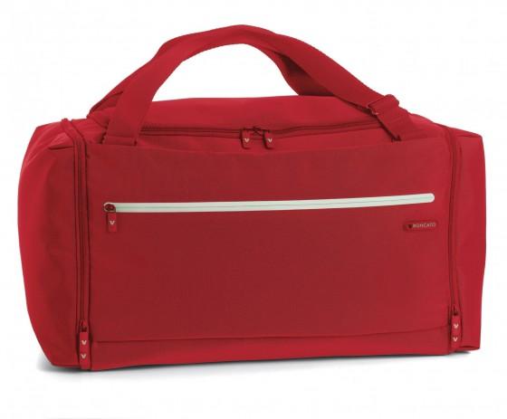 Torba podróżna do ręki/na ramię marki Roncato z kolekcji Polaris - kolor czerwony