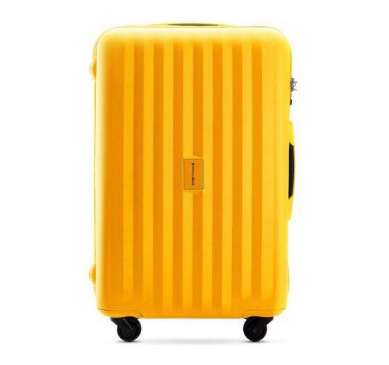 Wittchen Travel PP Walizka średnia żółta