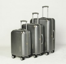 Vip Collection Mont Blanc Komplet 3 walizek srebrny