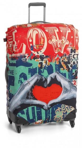 Roncato Accessories Pokrowiec zabezpieczający na walizkę dużą Love