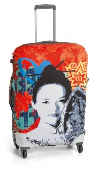 Roncato Accessories Pokrowiec zabezpieczający na walizkę średnią Geisha