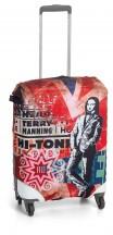 Roncato Accessories Pokrowiec zabezpieczający na walizkę średnią Monnalisa British
