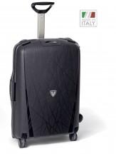 Roncato Light walizka średnia czarna