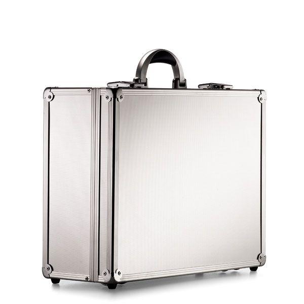 2a158627ba009 Neseser/Walizka specjalistyczna, metal + aluminium - kolor srebrny ...