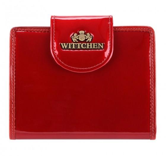 Wittchen Verona Portfel damski czerwony