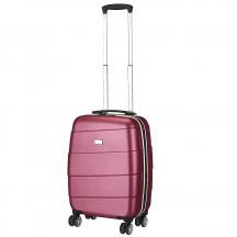 Travelite Stripes Walizka mała purpurowa
