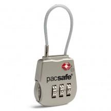 Pacsafe ProSafe 800 Kłódka na szyfr TSA srebrna