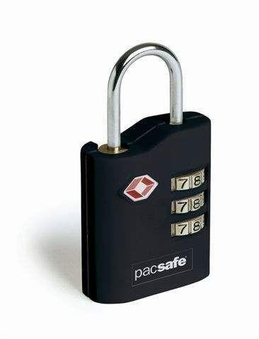 Pacsafe ProSafe 700 Kłódka na szyfr TSA czarna