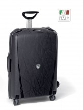Roncato Light walizka duża czarna