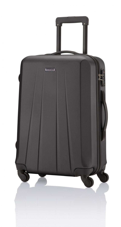 05304b361633e Walizka średnia marki Travelite z kolekcji Extra, 4 kółka, zamek TSA ...