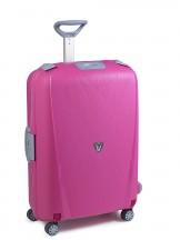 Roncato Light walizka duża różowa