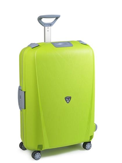 Roncato Light walizka duża limonkowa