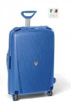 Roncato Light walizka duża niebieska