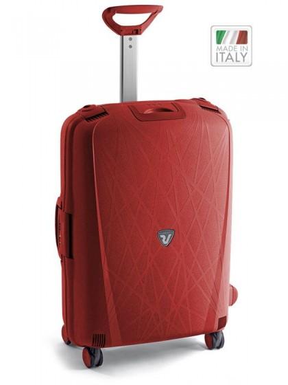 Roncato Light walizka średnia czerwona