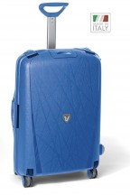 Roncato Light walizka średnia błękitna
