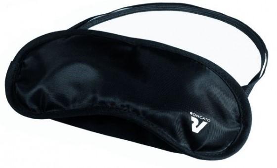 Roncato Accessories Maska na oczy i zatyczki do uszu czarne