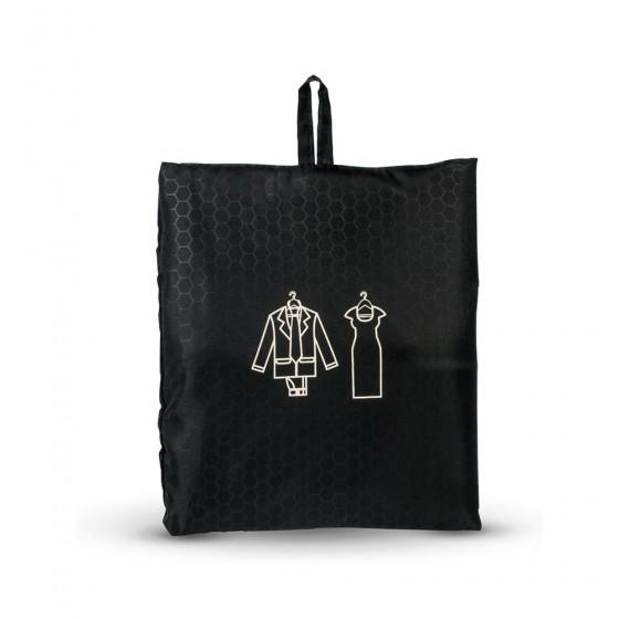 Roncato Accessories Pokrowiec do pakowania garnituru, sukienki czarny