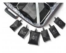 Roncato Accessories Zestaw 6 pokrowców do pakowania czarny