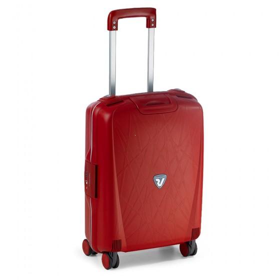 Roncato Light walizka mała kabinowa czerwona