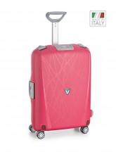Roncato Light walizka mała kabinowa różowa