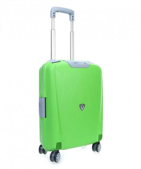 Roncato Light walizka mała kabinowa limonkowa