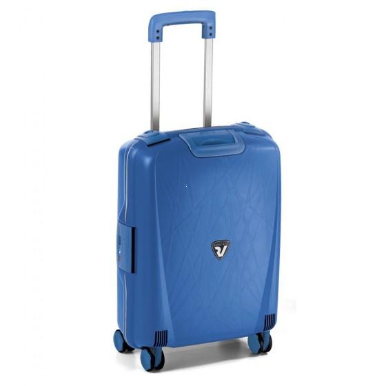 Roncato Light walizka mała kabinowa błękitna