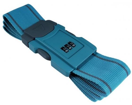 Roncato Accessories Pas do bagażu szyfrowy niebieski
