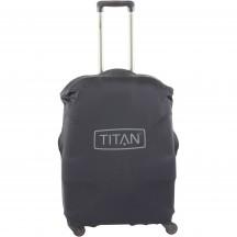 Titan Pokrowiec zabezpieczający na walizkę małą czarny