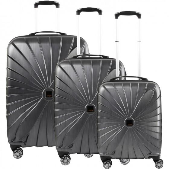 Titan Triport Komplet 3 walizek antracytowych