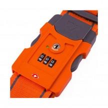 Roncato Accessories Pas do bagażu szyfrowy TSA pomarańczowy