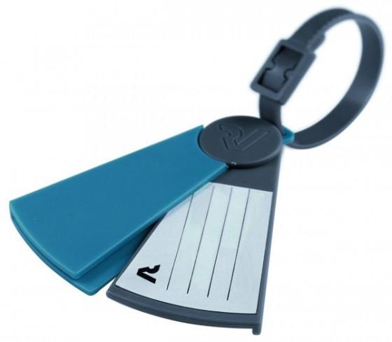 Roncato Accessories Identyfikatory podróżne zestaw 2 szt. kolorowe