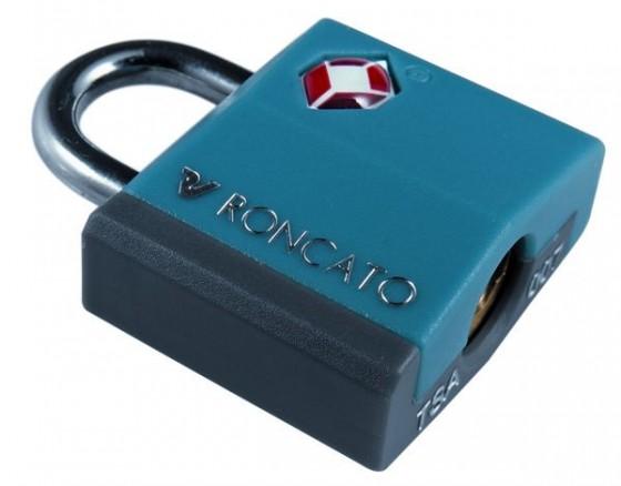 Roncato Accessories Kłódka TSA niebieska
