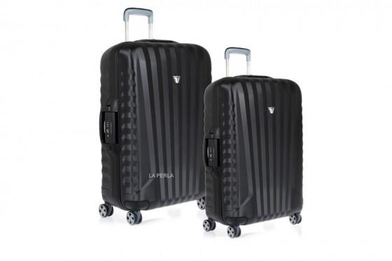 Roncato Uno SL Komplet 2 walizek czarnych