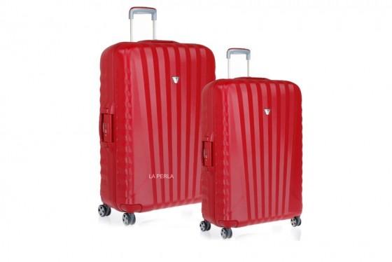 Roncato Uno SL Komplet 2 walizek czerwonych