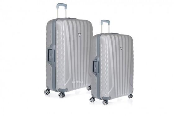 Roncato Uno SL Komplet 2 walizek srebrnych