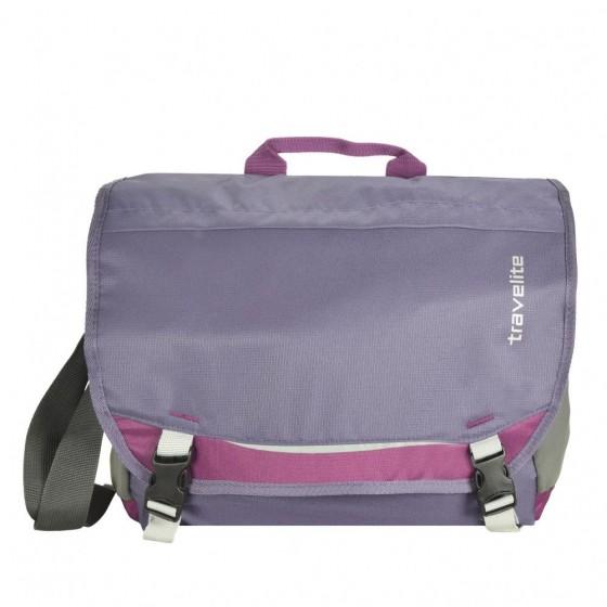 Travelite Basics Torba na ramię fioletowa