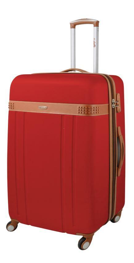 e2ec5dfbab66c Walizka twarda duża, 4 kółka, zamek TSA marki Dielle kolekcja 220 ...