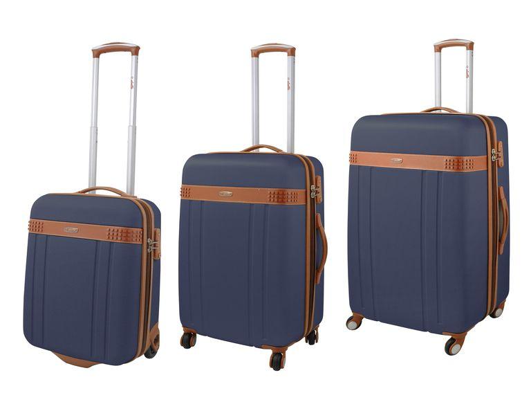 34ccf46d329f0 Walizka twarda średnia, 4 kółka, zamek TSA marki Dielle kolekcja 220 ...