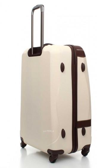 daa22282f975e Walizka twarda duża, 4 kółka, zamek TSA marki Dielle kolekcja 210 ...