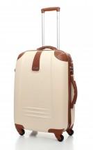 Dielle 255 walizka duża kremowa