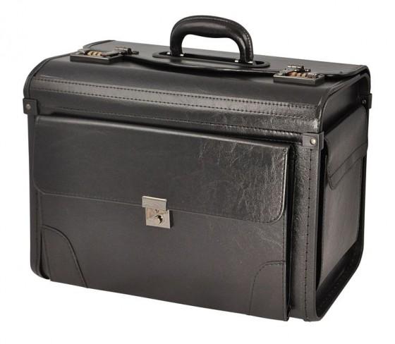 Dielle Diplomat Neseser kufer czarny