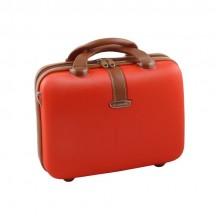 Dielle 255 Kuferek podróżny kosmetyczka czerwony