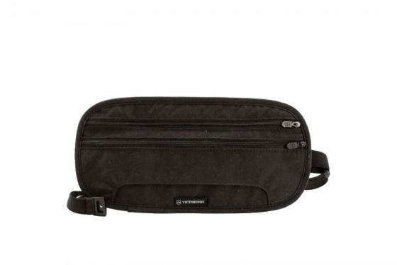 Victorinox Lifestyle Accessories 4.0 Sekretny portfel na pas czarny