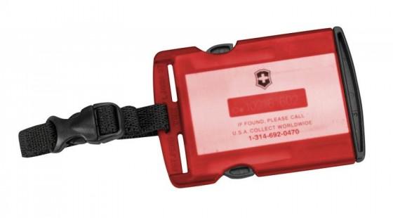 Victorinox Lifestyle Accessories 4.0 Identyfikator podróżny czerwony